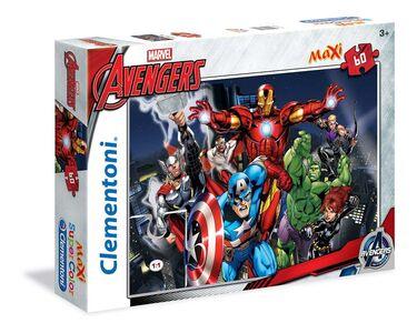 Foto di Puzzle Maxi 60 pezzi Avengers. Avengers Assemble, Giochi e giocattoli