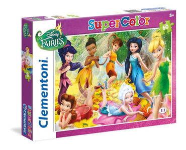 Giocattolo Disney Fairies. Puzzle 60 pezzi Clementoni 0
