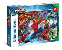 Giocattolo Puzzle 60 pezzi Spider-Man Sinister Six Clementoni