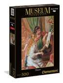 Giocattolo Puzzle 500 pezzi Renoir: Fanciulle al Piano Clementoni