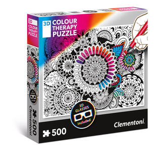 Puzzles 500 Pezzi Colour Therapy. Flowers