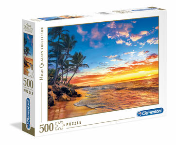 Puzzle 500 Pz. High Quality Collection. Paradise Beach