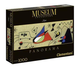 Giocattolo Puzzle Modern Art 1000 Pz. Mirò. Donna e Uccello Nella Notte Clementoni 0
