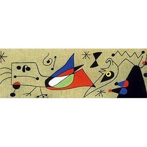 Giocattolo Puzzle Modern Art 1000 Pz. Mirò. Donna e Uccello Nella Notte Clementoni 1