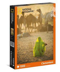Giocattolo Puzzle 1000 pezzi Sari National Geographic Clementoni 0