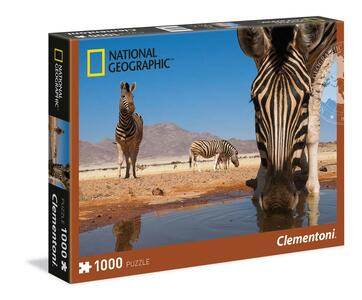 Puzzle 1000 pezzi National Geographic. Zebra - 2
