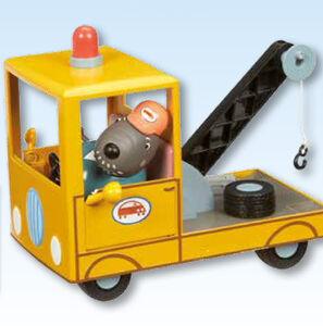 Giocattolo Peppa Pig. Il carro attrezzi di Nonno Cane Giochi Preziosi