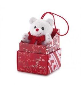 Foto di Peluche orsetto con cuore Trudi, Giochi e giocattoli 0