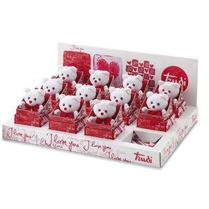 Foto di Peluche orsetto con cuore Trudi, Giochi e giocattoli 1