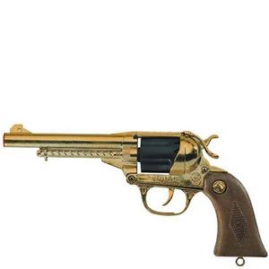 Giocattolo Pistola Nevada Metal Oro 12 Villa Giocattoli