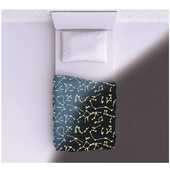 Idee regalo Kanguru coperta  Single bed Constellations Kanguru