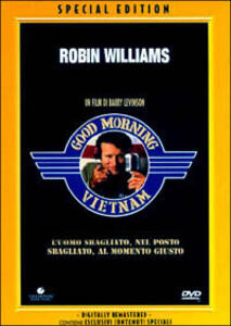 Good Morning, Vietnam<span>.</span> Special Edition di Barry Levinson - DVD