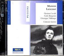 Manon Lescaut - CD Audio di Giacomo Puccini,Carlo Bergonzi,Giuseppe Valdengo,Floriana Cavalli,Gabriele Santini
