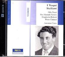 I vespri siciliani - CD Audio di Giuseppe Verdi,Antonino Votto,Aldo Protti,Margherita Roberti
