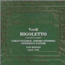Rigoletto (Selezione) - CD Audio di Giuseppe Verdi
