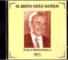Il mito dell'opera - CD Audio di Paolo Montarsolo