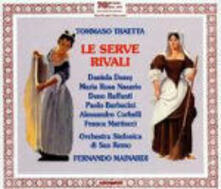 Le serve rivali - CD Audio di Tommaso Traetta