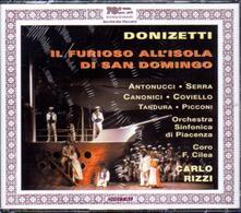 Il furioso all'isola di San Domingo - CD Audio di Gaetano Donizetti