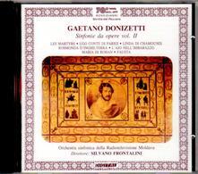 Sinfonie da opere vol.2 - CD Audio di Gaetano Donizetti