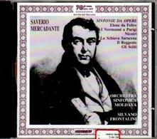 Sinfonie da opere - CD Audio di Saverio Mercadante