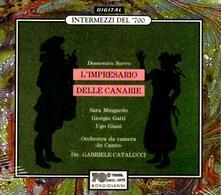 L'impresario delle Canarie - CD Audio di Domenico Sarri