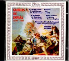 Glorias de España. Te Deum / Misa de l'Escorial / Salve Regina - CD Audio di Domenico Scarlatti,Alessandro Scarlatti,Juan Hidalgo