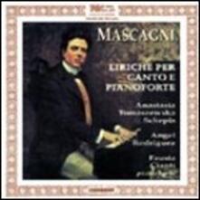 Liriche per canto e pianoforte - CD Audio di Pietro Mascagni