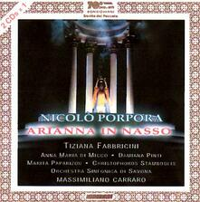 Arianna In Nasso - CD Audio di Nicola Antonio Porpora