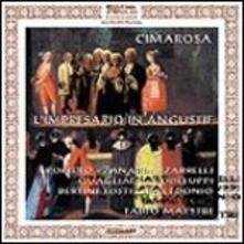 L'impresario in angustie - CD Audio di Domenico Cimarosa