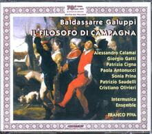 Il filosofo di campagna - CD Audio di Baldassarre Galuppi