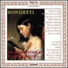 La romanziera e l'uomo nero - CD Audio di Gaetano Donizetti
