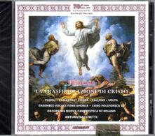 La trasfigurazione di Gesù Cristo - CD Audio di Lorenzo Perosi