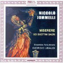 Miserere - Pietà Signore - CD Audio di Niccolò Jommelli