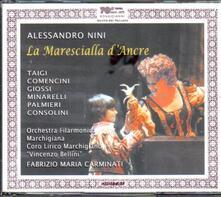 La marescialla d'Ancre - CD Audio di Alessandro Nini