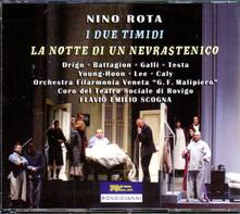 I due timidi - La notte di un nevrastenico - CD Audio di Nino Rota