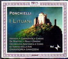 I Lituani - CD Audio di Amilcare Ponchielli