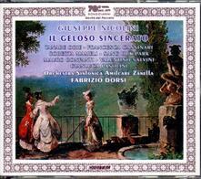 Il geloso sincerato - CD Audio di Giuseppe Nicolini