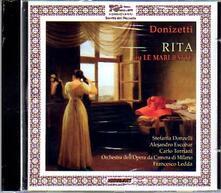 Rita ou Le Mari Battu - CD Audio di Gaetano Donizetti