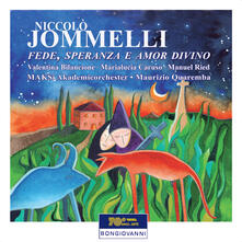 Fede, Speranza E Amor Div - CD Audio di Niccolò Jommelli