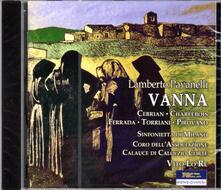 Vanna - CD Audio di Lamberto Pavanelli