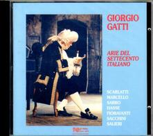 Arie del Settecento italiano - CD Audio di Giorgio Gatti