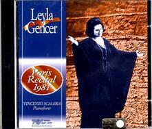 Recital a Parigi 1981 - CD Audio di Leyla Gencer
