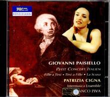 Piccolo concerto italiano - CD Audio di Giovanni Paisiello