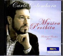 Musica proibita - CD Audio di Carlo Colombara