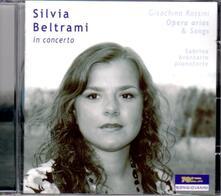 Sivia Beltrami in concerto. Arie e altra musica vocale - CD Audio di Gioachino Rossini,Silvia Beltrami,Sabrina Avantario