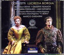 Lucrezia Borgia - CD Audio di Gaetano Donizetti,Mariella Devia,Giuseppe Filianoti,Marco Guidarini