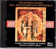 Polifonia sacra del Rinascimento spagnolo - CD Audio