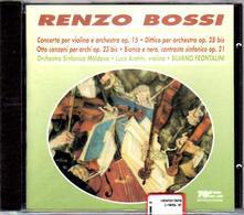 Musica per archi e orchestra - CD Audio di Renzo Bossi