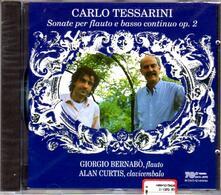 Sei sonate per flauto e clavicembalo - CD Audio di Carlo Tessarini