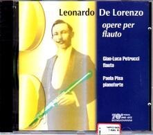 Opere per flauto - CD Audio di Leonardo De Lorenzo